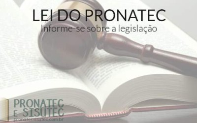 Lei do Pronatec