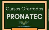 Cursos Pronatec 2019 – Cursos Oferecidos