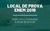 Local da Prova ENEM 2019