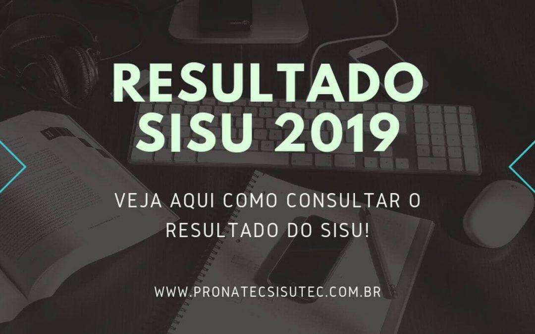 Resultado SISU 2019 – Veja como consultar!