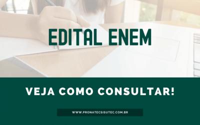Edital ENEM 2020 – Consulte e tire suas dúvidas!