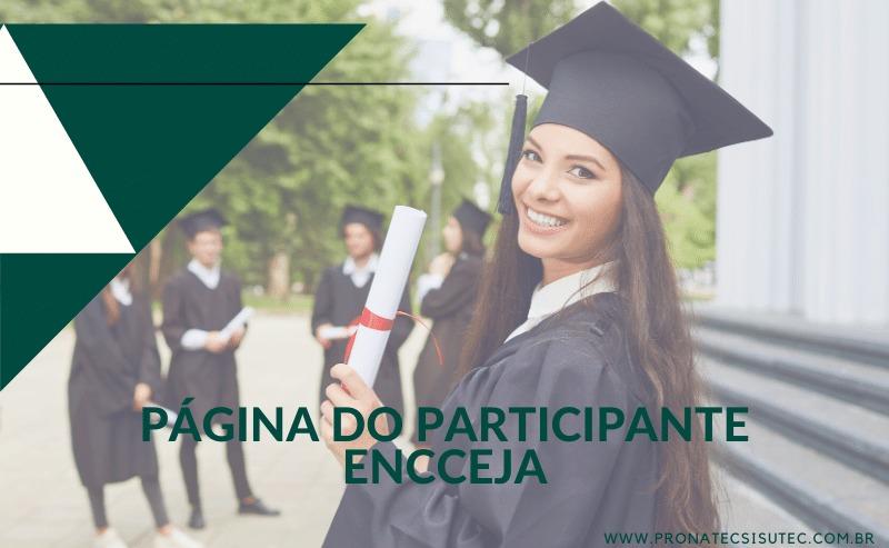 Página do Participante Encceja – Como acessar?